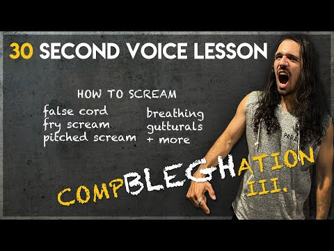 YouTube Lesson: 30 Second Voice Lesson CompBLEGHation 3