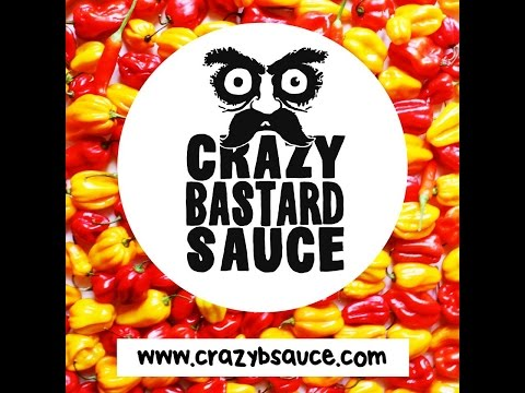 "Crazy Bastard Sauce ""Habanero & Tomatillo"" Hot Sauce Review"