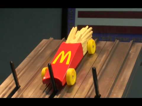 Mcdonalds French Fries Race Car Youtube