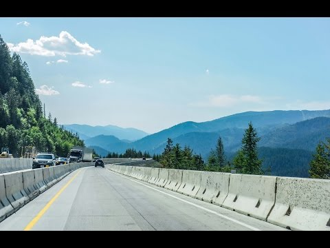 16-17 Montana to Idaho: I-90 West  & Lookout Pass