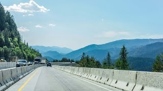 16-17 Montana to Idaho: I-90 West  & Lookout Pass