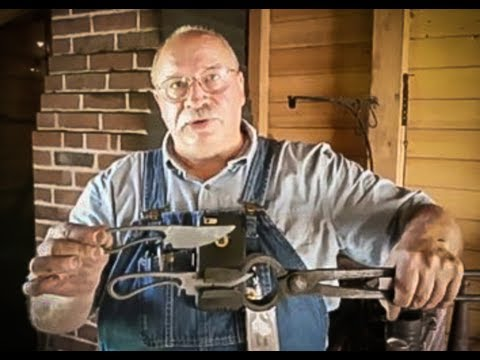 Forging the X-Rhea Utility Knife with Lin Rhea, Master Smith and Stuart Smith