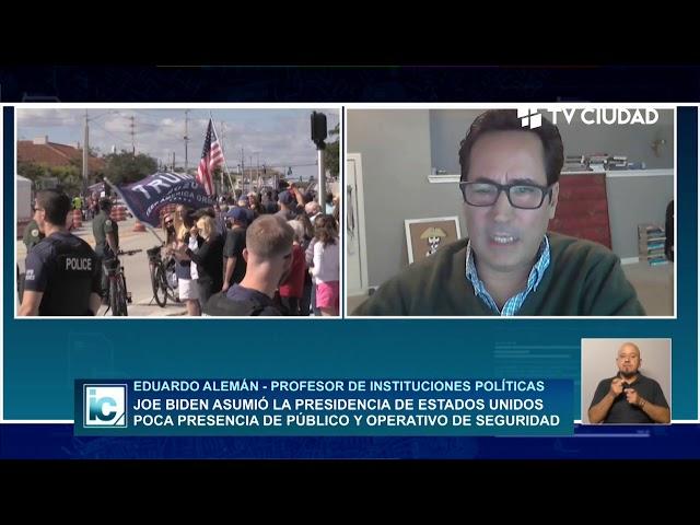 Informe Capital | Entrevista a Eduardo Alemán - Analista político desde EEUU