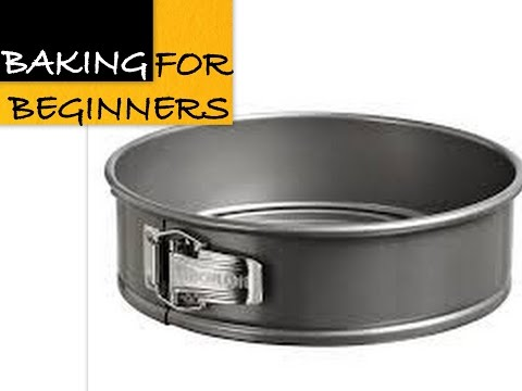 How To Measure Baking Tins/Pans