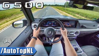 NEW!  Mercedes Benz G Class / G Wagon G500 AMG Sport Exhaust POV Test Drive by AutoTopNL