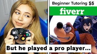 Paid Someone On Fiverr To Teach My Girlfriend Smash Bros
