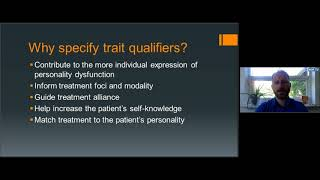 Bo Bach: Personality Disorders: Clinical rationale and application (ICD-11)