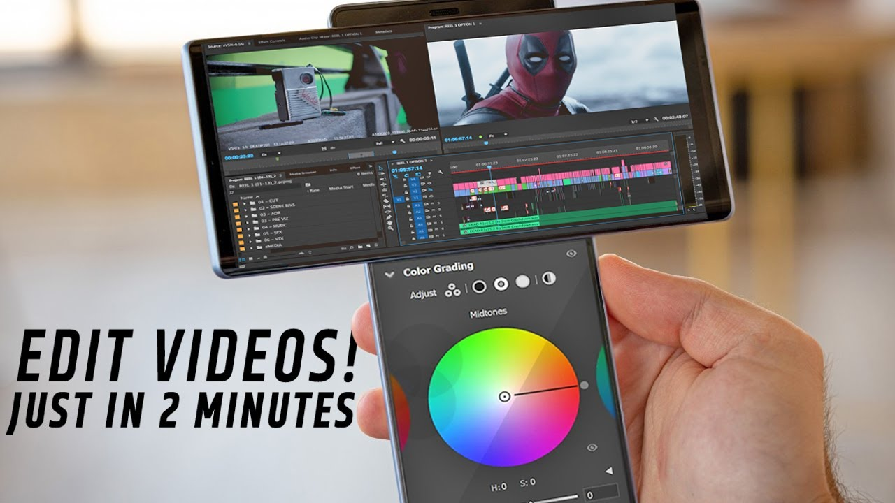 Edit Video Just in 2 Minutes   4 PROFESSIONAL Video Editing Apps