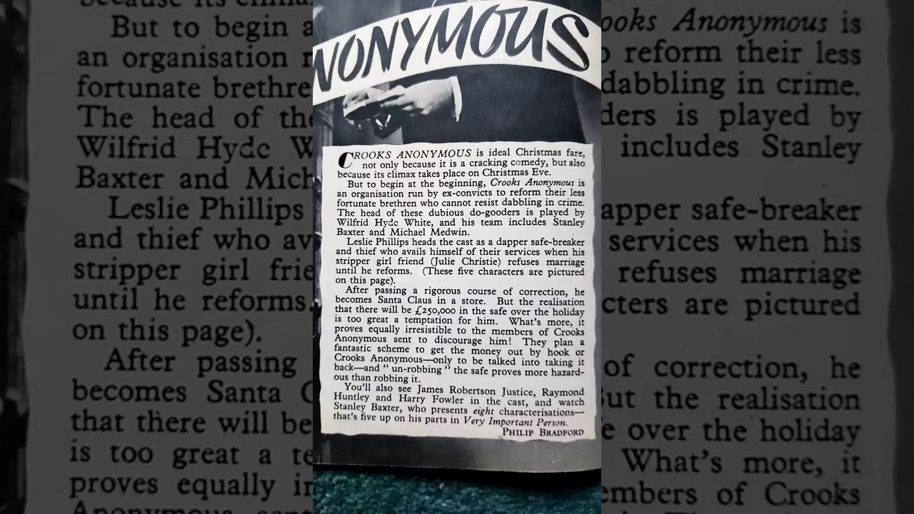 Download Crooks anonymous 1962 film article cutting edge official film archive