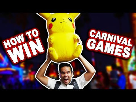 How to WIN carnival games | REAL carnival game hacks