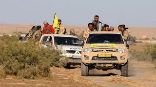 شاهد أين وصلت ميليشيا قوات سوريا الديمقراطية وماذا قال وزير تركي عن أمريكا-تفاصيل