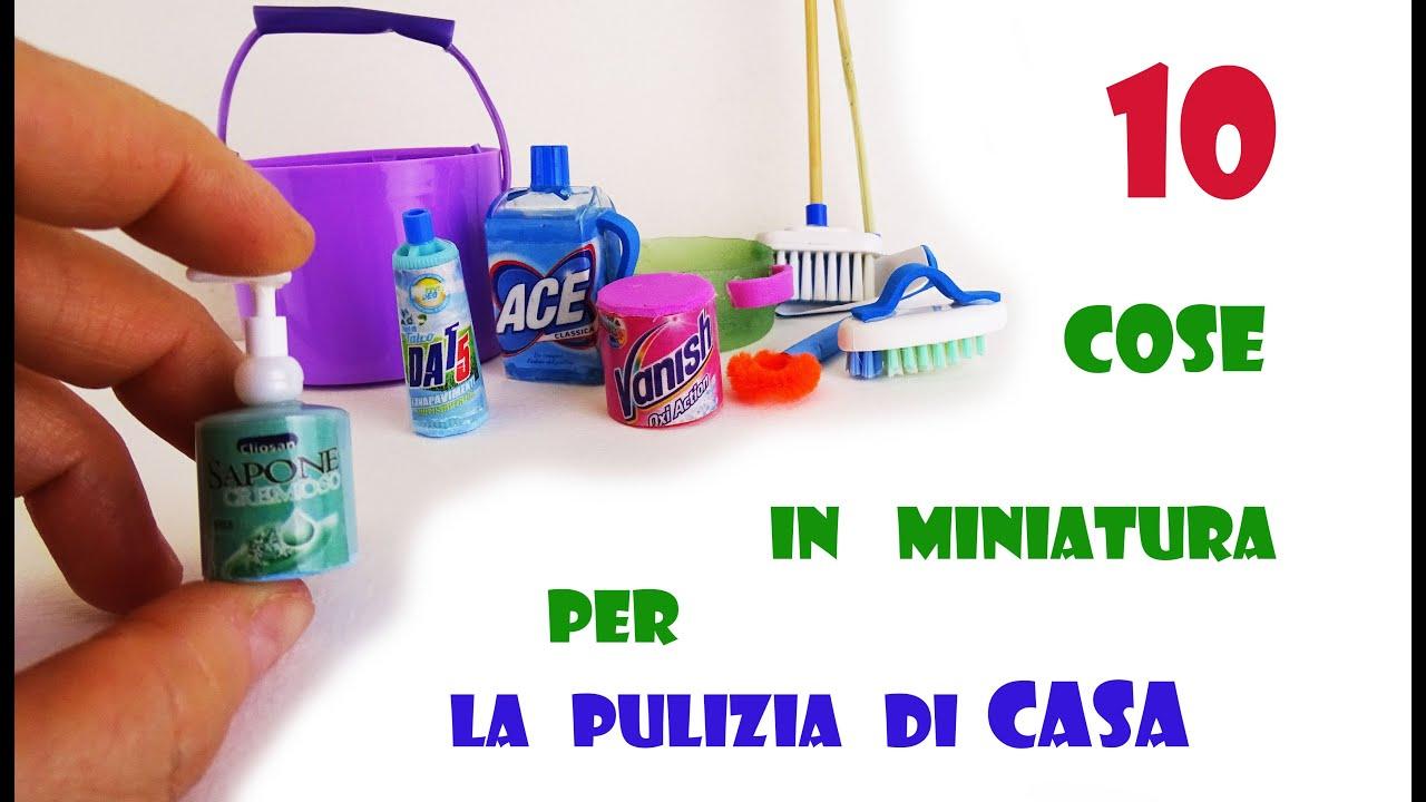 Giochi Di Pulire La Casa 10 #diy in #miniatura #creazioni per la #pulizia di #casa delle #barbie  #riciclo #creativo #faidate