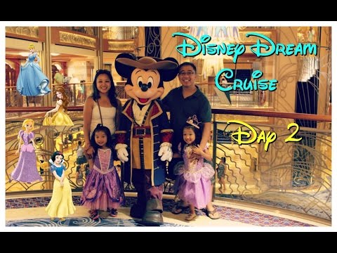 Disney Dream Cruise 2016 | Day 2 Bahamas, Disney Princess, Pirate Night vlog | Mommy's Time