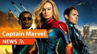 Captain Marvel Final Poster & Other Info