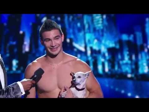 America's Got Talent 2014 - Radio City Music Hall - Christian Stoinev & Scooby