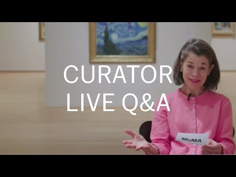 LIVE Q&A with MoMA Curator Anne Umland (April 24)