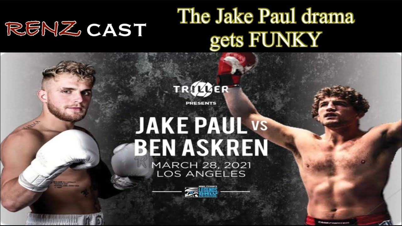 RENZcast : The Jake Paul Drama gets FUNKY