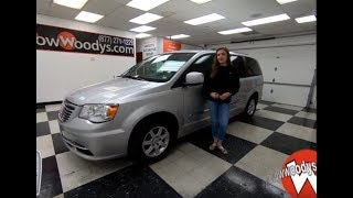 2011 Chrysler Town & Country Touring Review | Video Walkaround | Used Cars and Trucks at WowWoodys
