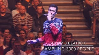 Shlomo Beatbox - sampling 3000 people FULL HD VERSION