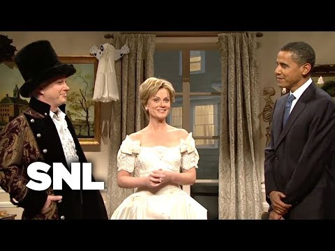 The Clintons Halloween Party - SNL