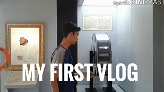 MY FIRST VLOG IN SCIENCE CITY