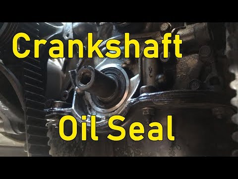 How To Change Your Crankshaft Oil Seal (Removal Only) - Honda Civic EG - Draft Project