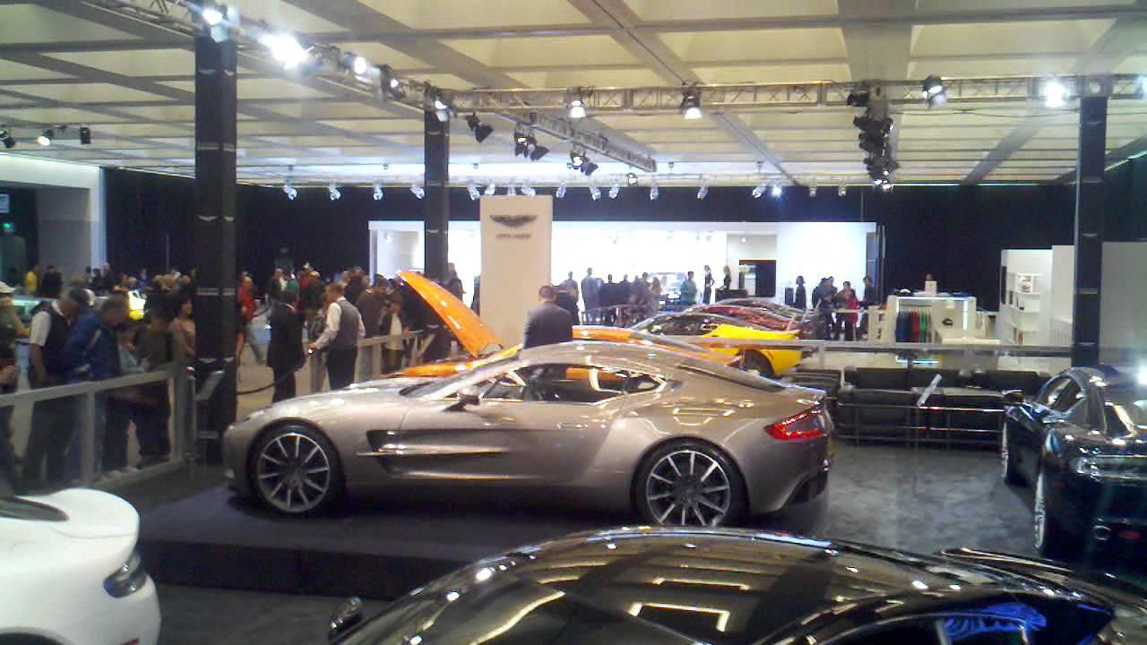 Galpin Aston Martin Booth LA Auto Show YouTube - Galpin aston martin