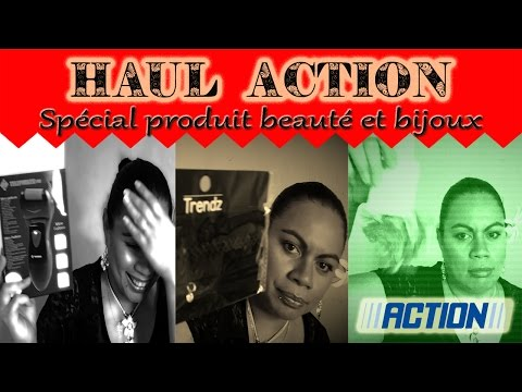 HAUL ACTION #8/ Spécial produit beauté et bijoux