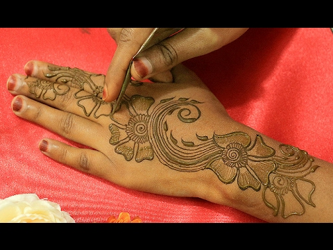 Easy Simple Floral Mehndi Designs Learn Step By Step Special Roses