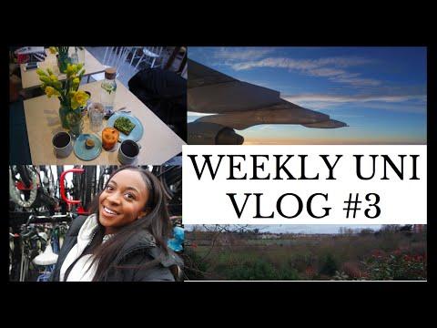 WEEKLY UNI VLOG #3| AMSTERDAM to SHREWSBURY| Mission Worldie
