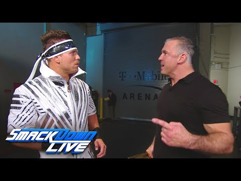 Shane McMahon confronts The Miz: SmackDown LIVE, Dec. 11, 2018