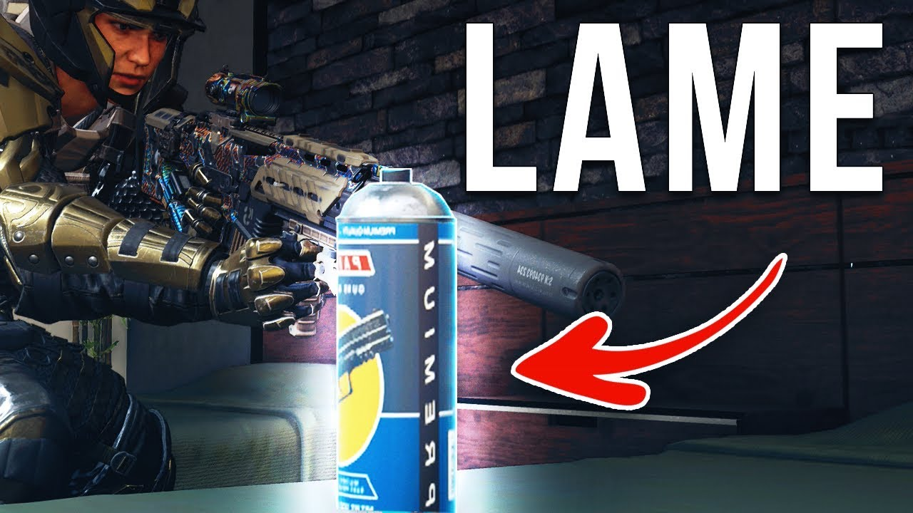 Blackout-Farbdosen sind lahm! + video