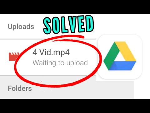 How to Fix Google Drive Waiting to Upload Error in Android