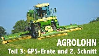 Lohnunternehmen Agrolohn: GPS Ernte und zweiter Schnitt