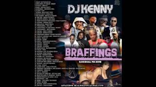 DJ KENNY BRAFFINGS DANCEHALL MIX 2018
