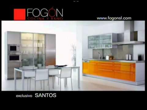 Muebles de Cocina: Fogón - YouTube