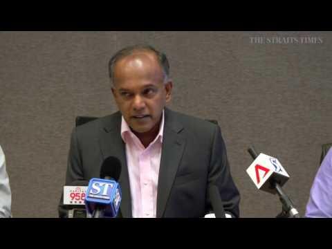 Shanmugam on probe of Ang Mo Kio Town Council ex-GM