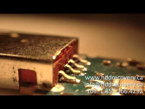 how to get files from damaged USB stick