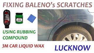 REMOVING SCRATCHES | BALENO | LUCKNOW