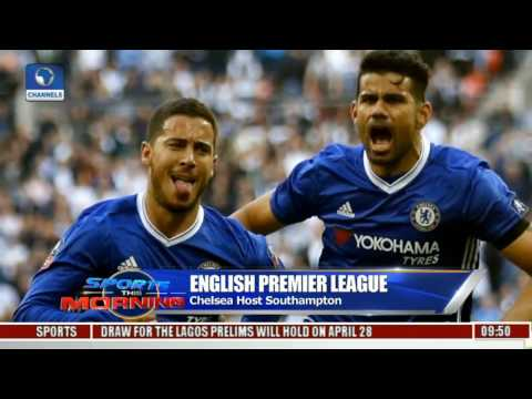 English Premier League: Chelsea Host Southampton