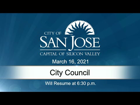 MAR 16, 2021 | City Council, Evening Session