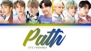 BTS - Path (방탄소년단 - 길) [Color Coded Lyrics/Han/Rom/Eng/가사]