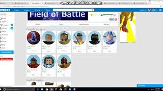 Roblox Field Of Battle: I Bought Assassin Class Gamepass