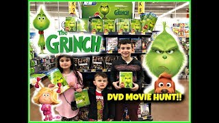 The Grinch Movie DVD Hunt! Walmart Toy Hunt! Special LIMITED EDITION DVD!