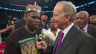 POST FIGHT: Adonis Stevenson & Badou Jack feel aggrieved & want rematch after majority draw