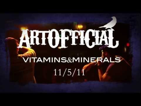 "ArtOfficial - ""Vitamins & Minerals"" Available 11-5-11"