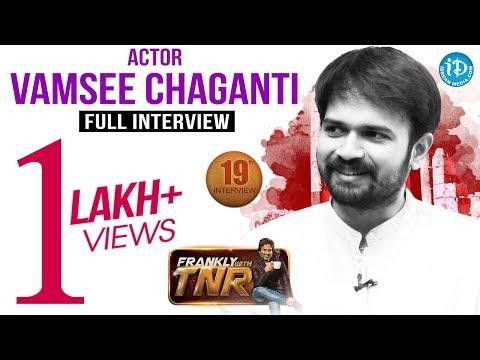 RGV Vangaveeti's Murali (Vamsee Chaganti) Interview | Frankly With TNR - Talking Movies#146