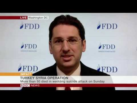 Aykan on Turkey and Kurdish forces in Syria on BBC World News