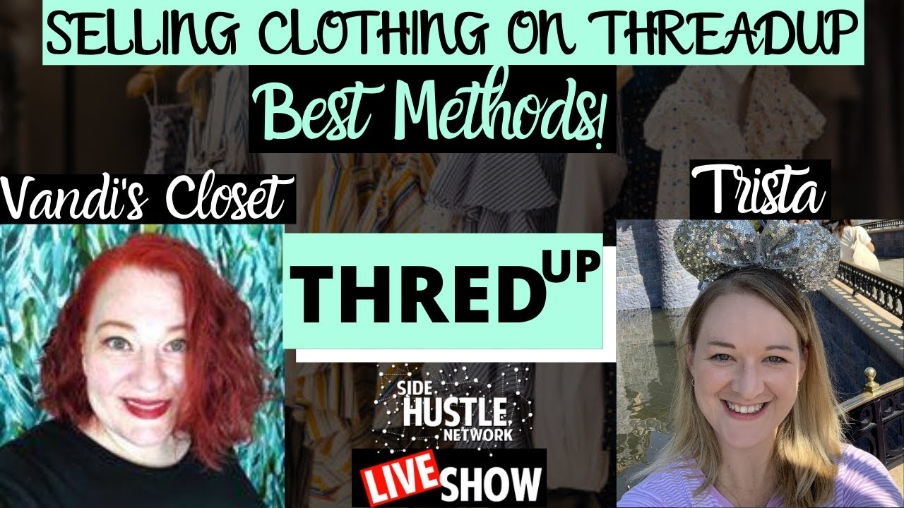ThreadUp For Beginners | How To Get Started & Best Strategies | Live Show w/ Trista & Melissa!
