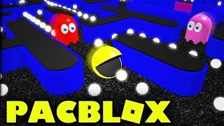 Pacman Game in Roblox!? - PacBlox